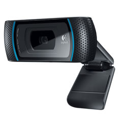 Aimee's new logitech webcam