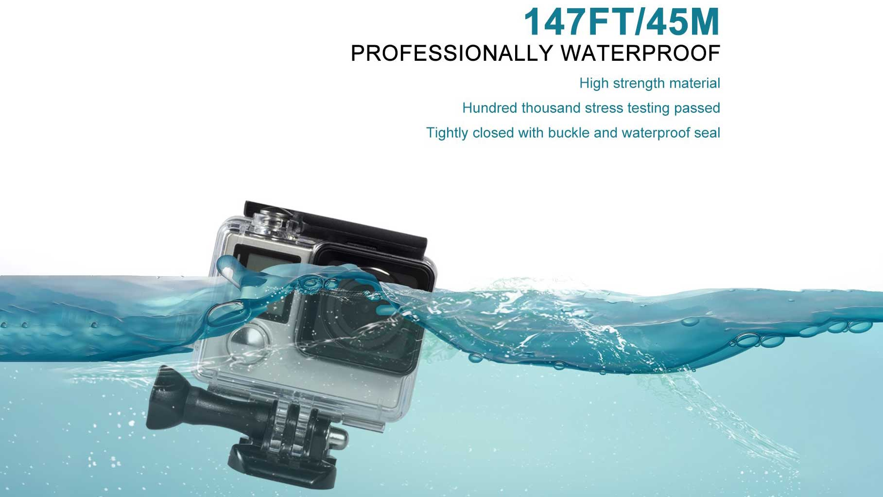 Waterproof Housing Case for GoPro Hero 4