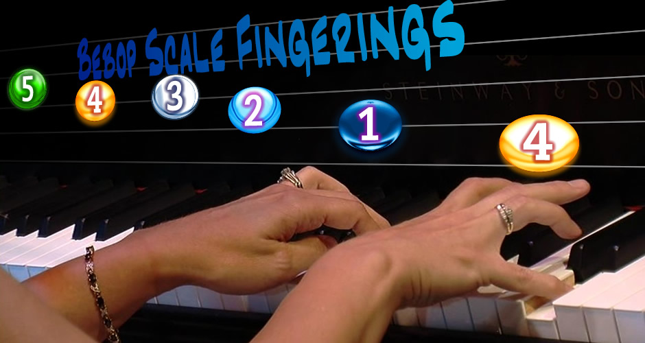 Bebop Scale Fingerings
