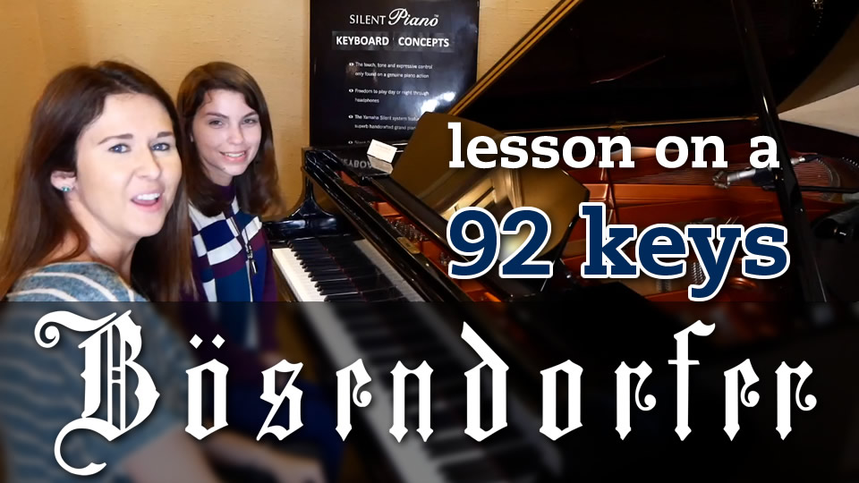 Jazz Lesson On A $138,000 Bosendorfer