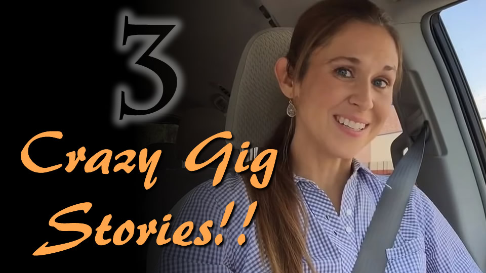Story Time!! Crazy Gig Stories!!