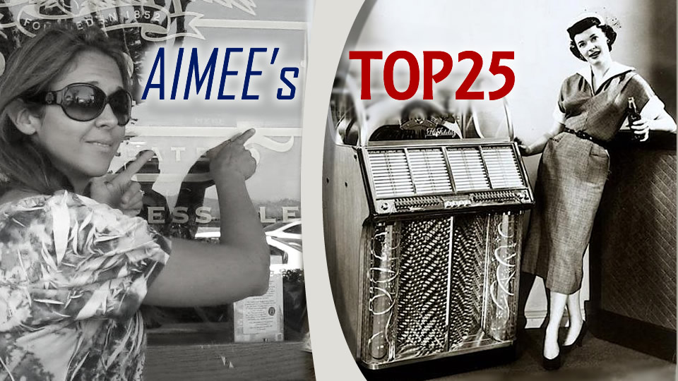 Aimee's Top 25 Pop Songs