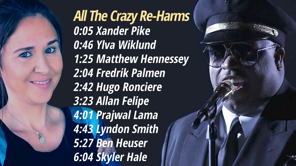 All The Crazy Re-Harms