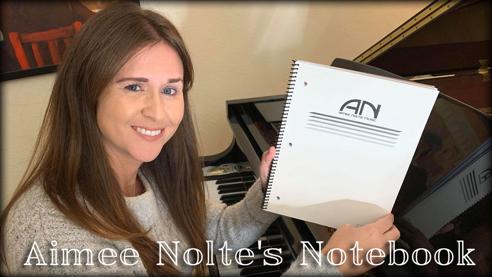 Aimee Nolte's Notebook