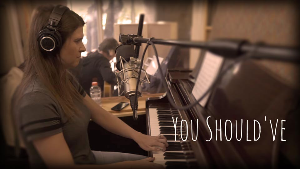 Aimee In The Studio - You Should've