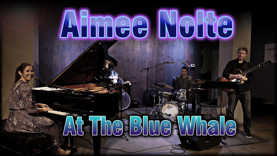Aimee Nolte At The Blue Whale