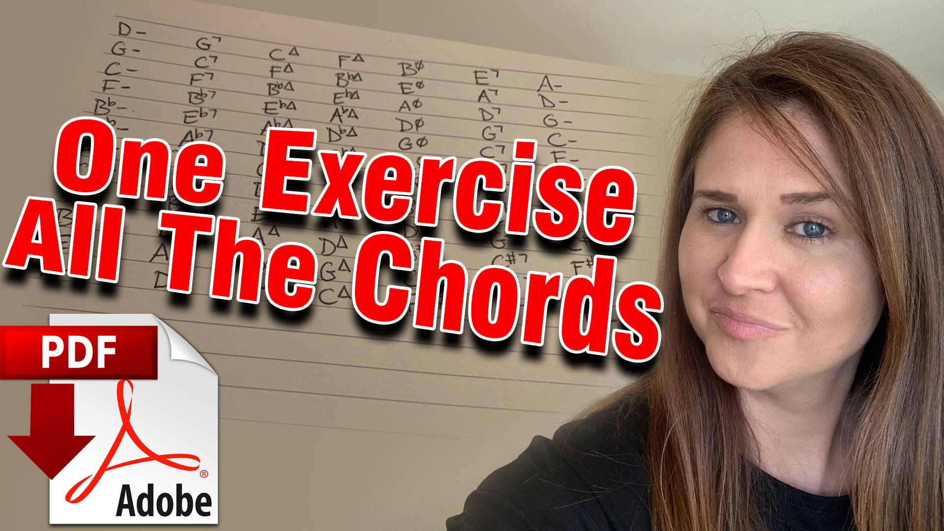 One Exercise - All The Chords