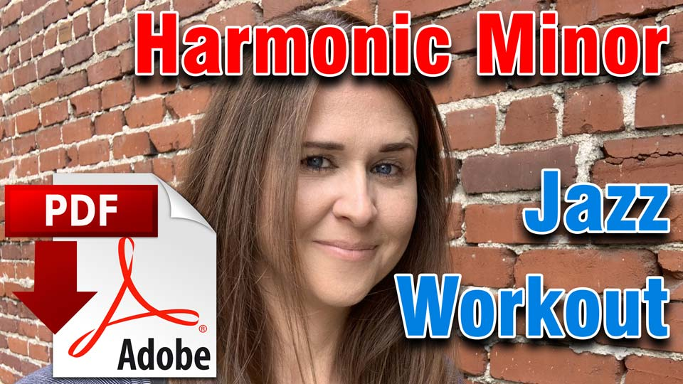 Harmonic Minor Jazz Workout