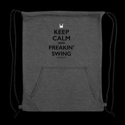 freakin-swing-black-sweatshirt-cinch-bag